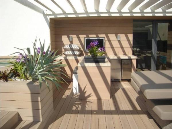 W Hotel Miami - Resysta Tru-Grain Rooftop Decking - HDG Building Materials