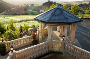 Belle Fiore Winery Columns Top - HDG Building Materials