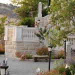 Belle Fiore Winery Stone Stair Surround - HDG Building Materials