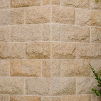 Belle Fiore Winery Stone House Close - HDG Building Materials
