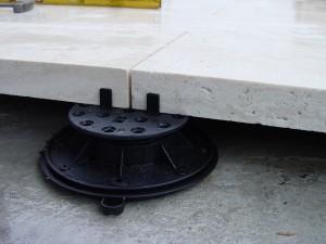 Stone Tile on Buzon Pedestal - HDG Building Materials