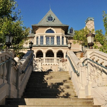 Belle Fiore Winery Granite Stone Stairs - HDG Building Materials