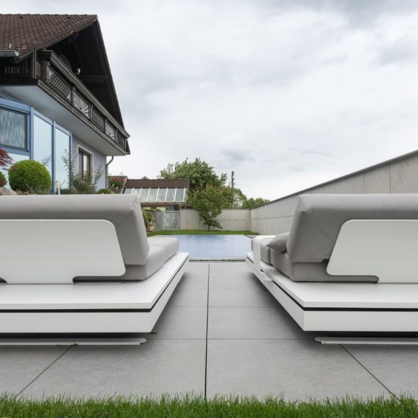 HDG Berona Light Grey Porcelain Paver with Limestone Finish for Pool Surround - HDG Building Materials