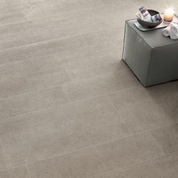 HDG Cedrone Porcelain Tile with Fossil Traces Limestone Finish - HDG Building Materials
