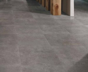 HDG Perlino Grey Limestone Floor - close up