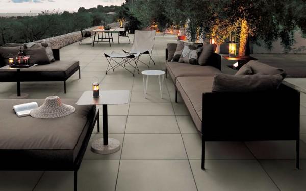 HDG Ecru Porcelain Paver - Grigio Basic 60x60 Tile - HDG Building Materials