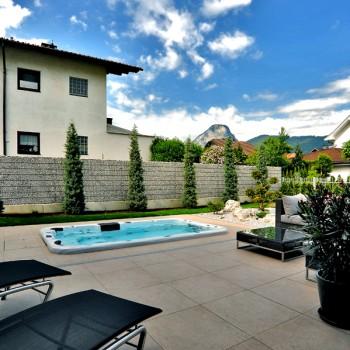 HDG Fondali Porcelain Tile in Pool Surround Decking Application