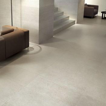 HDG Fondali Porcelain Tile Entry - White Cream Color