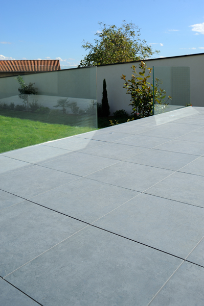 HDG Granado Porcelain Pavers - Seastone Gray - HDG Building Materials