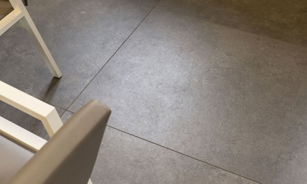 HDG Limestone Brown Porcelain Paver - Greenwich TB04 Restaurant Floor - HDG Building Materials