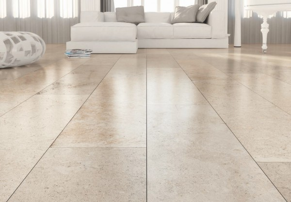 HDG Limestone Latte Porcelain Stone Finish Paver - HDG Building Materials