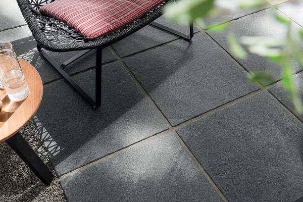 HDG Negro Porcelain Paver - Basalto 60x60 Tile - HDG Building Materials
