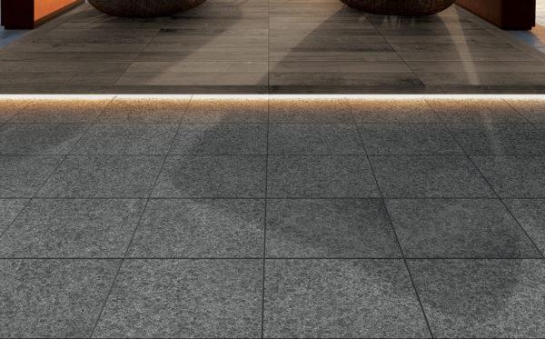 HDG-Negro-Porcelain-Paver-Basalto-60x60-Tile-HDG Building Materials