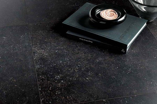 HDG Neros Porcelain Tile - Seastone Black - HDG Building Materials