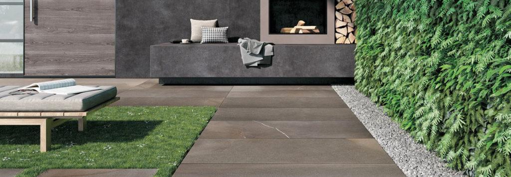 HDG Pietra Pavero Brown Porcelain Pavers Esprit EP06 - HDG Building Materials