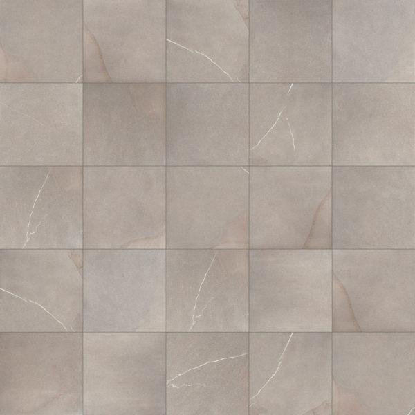 HDG Pietra Sandstone Flamed-Finish Stone-Look Pavero Ash Porcelain Pavers