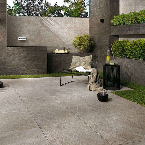 HDG Rosario Porcelain Paver Patio - HDG Building Materials