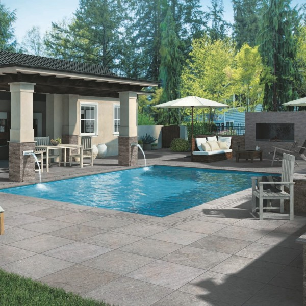 HDG Sierra Grey Porcelain Pavers - HDG Building Materials