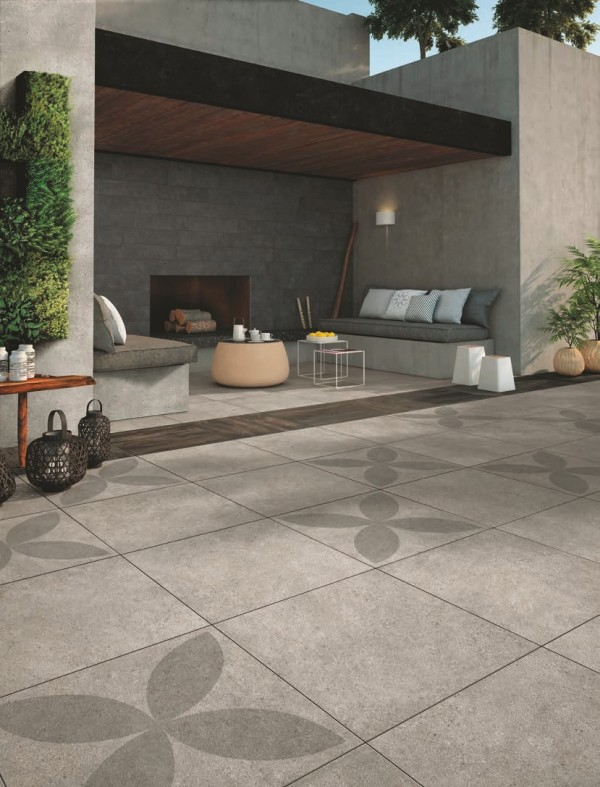 HDG Urban Block 60x60 Porcelain Paver - Mashup Block MP 04 - HDG Building Materials