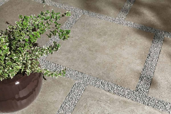 HDG Urban Way Porcelain Paver 60x60 - Mashup Way MP 02 Tile - HDG Building Materials