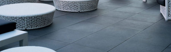 HDG-Berona-Dark-Porcelain-Paver-Pierre-Bleue-SO-10 rooftop terrace - HDG Building Materials