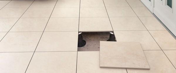 HDG Pietra Stone-Finish Pavers – Crema