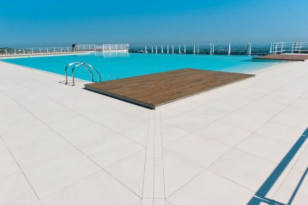 HDG Pavero Cream - Sandstone Flamed Porcelain Paver - HDG Building Materials