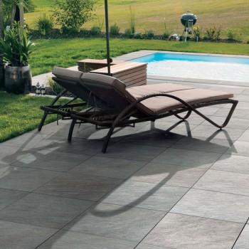 HDG Sierra Grey Porcelain Tile Pool Deck and Surround - HDG Building Materials