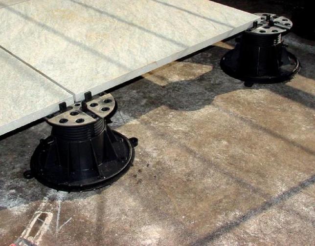 Porcelain Paver on Buzon Pedestal - HDG Building Materials