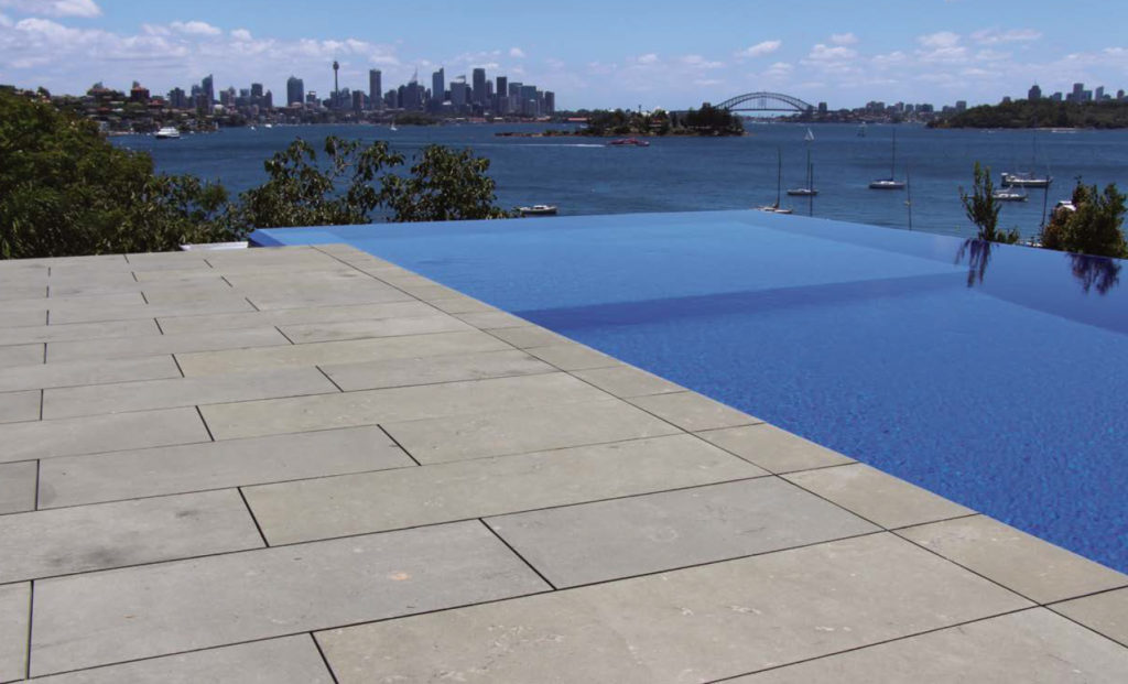 Buzon Pedestals Rooftop Deck Infinity Pool - HDG Building Materials