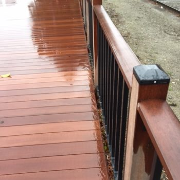 Resysta decking stays free from cracks and splinters