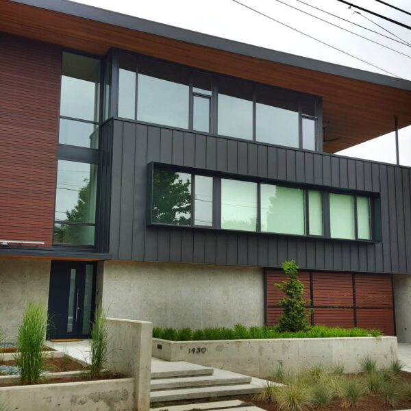 Residence Uses Resysta Composite Siding and Facade - Materials Supplied by HDG Building Materials