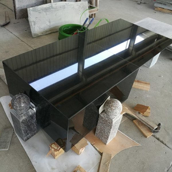 White or Black Granite for walls cladding flooring stairs slabs and monuments