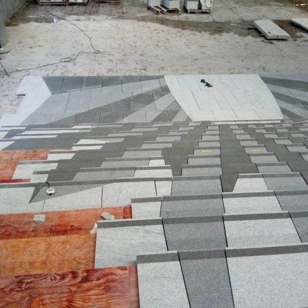 Photo reports of stone projects throughout fabrication - Xiamen in China