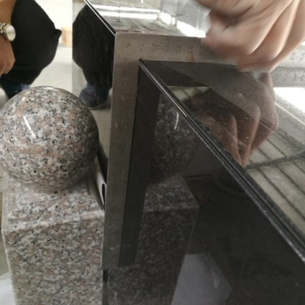 Precision finishes applied to granite at factory and delivered ready for installation
