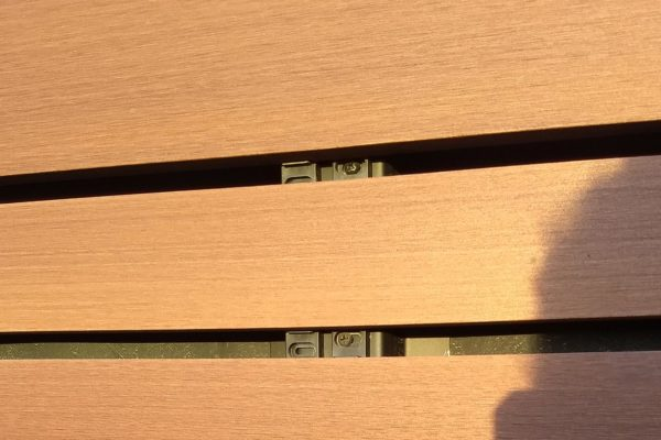 Image-of-Hidden-Fastener-and-Resysta-Siding-for-Rainscreen-Application-Sleep-Number-Store- HDG Building Materials