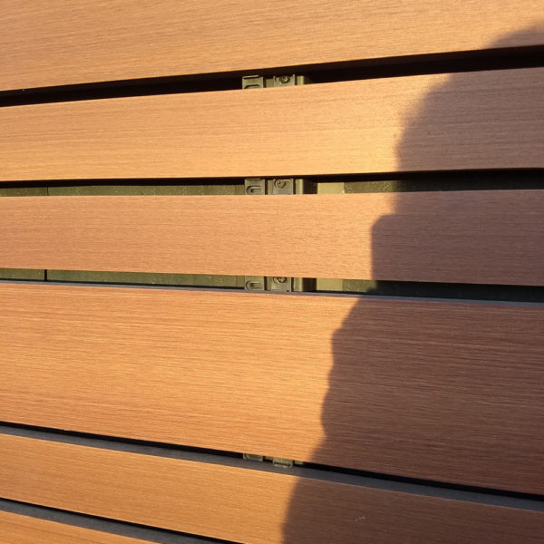 Resysta Siding for Rainscreen Applications with Hidden Fastener - HDG Building Materials