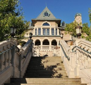 image of Belle Fiore Winery Stone-Stairs-Approach - HDG Building Materials