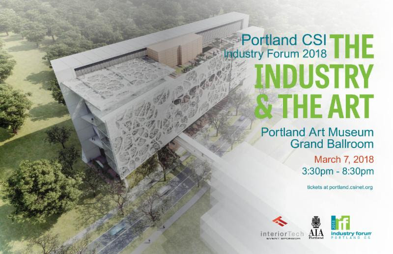 event image for Portland CSI Industry Forum 2018 - HDG Building Materials is Silver Sponsor