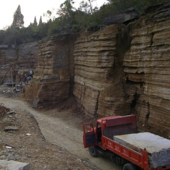 image of Transporting-Giant-Blocks-of-Stone-in-China-Quarry-HDG-Building-Materials