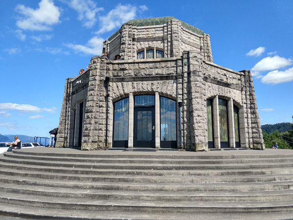Sandstone Art Nouveau Architecture at Crown Point promontory in Oregon USA - HDG Building Materials
