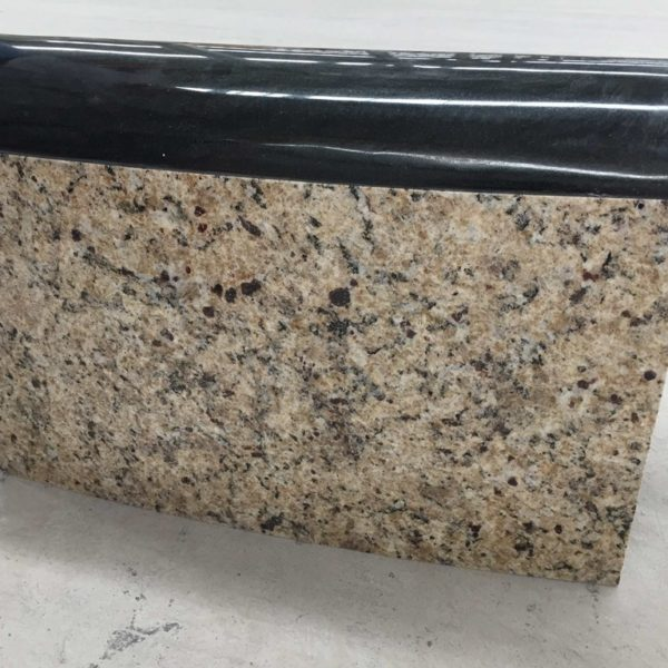 Brazilian Gold Granite and Absolute Black Granite