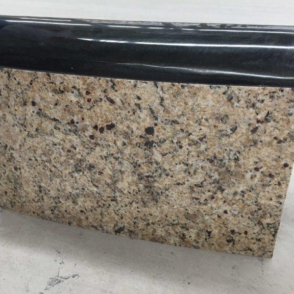 Brazilian Gold Granite and Absolute Black Granite