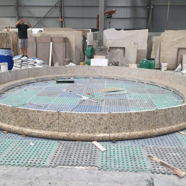 Each Stone Piece is Numbered and Labeled for Assembly at Job Site - HDG White Glove Service