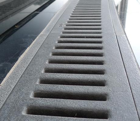 Granite natural stone drainage paver - HDG Building Materials