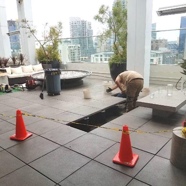 BC Series Pedestals Rooftop Application - HDG Building Materials