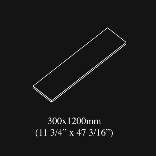 30x120 cm 12x48 inch nominal size porcelain tile