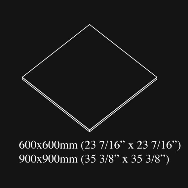 60x60 cm 24x24 inch nominal size porcelain tile - HDG Building Materials