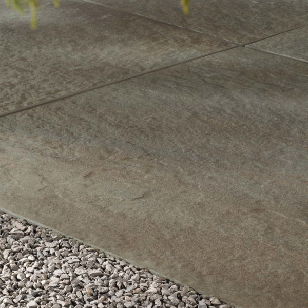 Pennsylvania Bluestone Kaia Porcelain Paver Cleft finish detail - HDG Building Materials