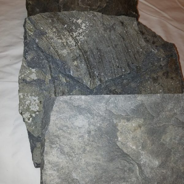 Basalt Images Front to Back - Light Grey, Medium Grey and Dark Grey/Black - HDG Building Materials
